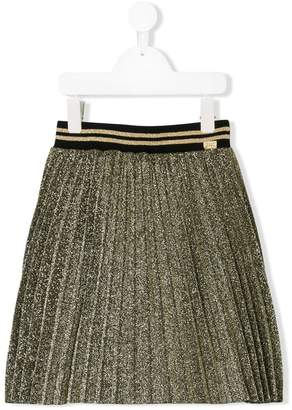 Little Marc Jacobs lurex pleated skirt