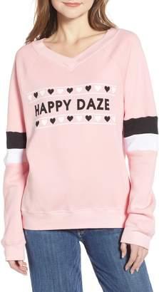 Wildfox Couture Gidget Beach Jumper - Happy Daze Sweatshirt
