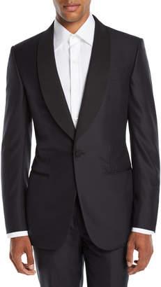 Ermenegildo Zegna Men's Shawl-Collar Wool/Silk Tuxedo Suit