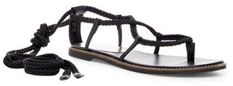 Madden Girl Julie Lace-Up Sandal $49 thestylecure.com