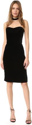Cushnie Et Ochs Strapless Velvet Dress $1,495 thestylecure.com