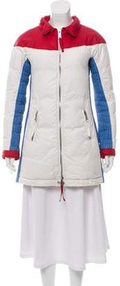 DSQUARED2 Colorblock Puffer Coat