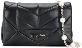 Miu Miu (ミュウミュウ) - Miu Miu キルティング ショルダーバッグ