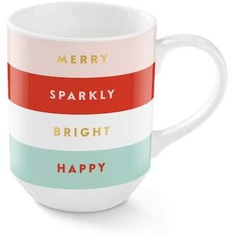 Fringe Studio Merry Sparkly Bright Happy Coffee Mug
