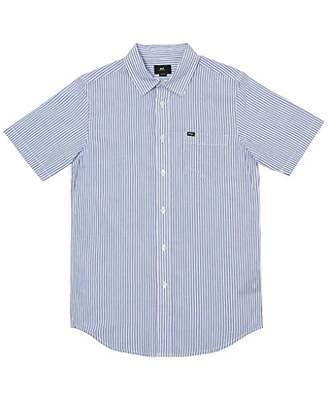 Obey Men's Trenton Short Sleeve Woven Shirt