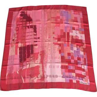 Chopard Red Silk Scarves