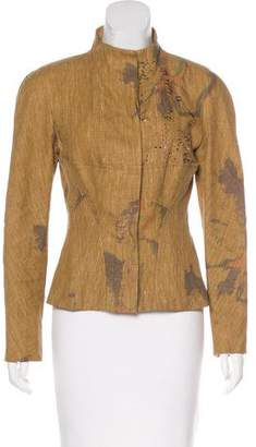 Christian Lacroix Linen Embellished Jacket