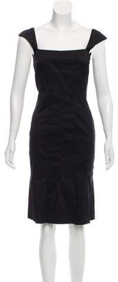 Anna Molinari Sleeveless Knee-Length Dress w/ Tags