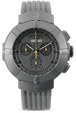 Charriol Celtica Chronograph Round Steel PVD Watch, 44mm