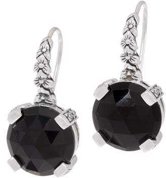 Stephen Dweck Sterling Silver Gemstone Drop Earrings