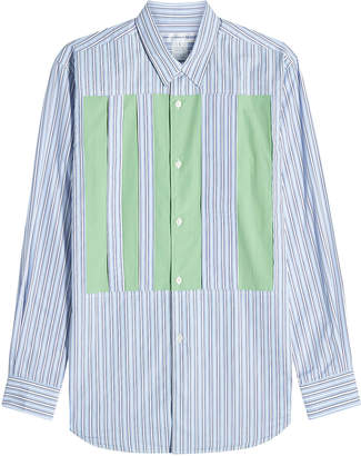 Comme des Garcons Stripes Cotton Shirt with Inserts