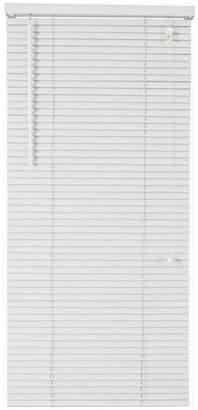 Little Black Book 25mm Venetian Blind - W90xL160cm - White