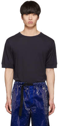 Dries Van Noten Navy Havik T-Shirt