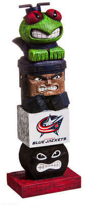 Evergreen Columbus Blue Jackets Tiki Totem