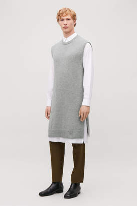 Cos LONG SLEEVELESS KNITTED TOP
