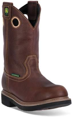 John Deere Men's Waterproof Western Work Boots