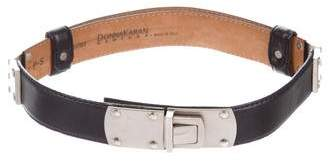 Donna Karan Leather Adjustable Belt