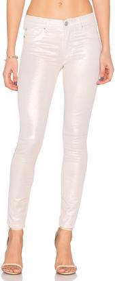 Hudson Jeans Nico Midrise Skinny $195 thestylecure.com