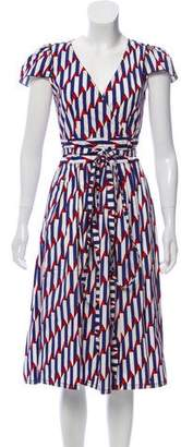 Marc Jacobs Printed Midi Dress w/ Tags