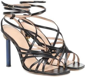 Jacquemus Les Sandales Pisa leather sandals