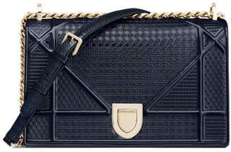 Christian Dior Diorama Shoulder Bag Blue