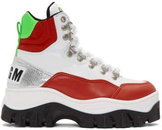 MSGM Multicolor Tractor Sneakers
