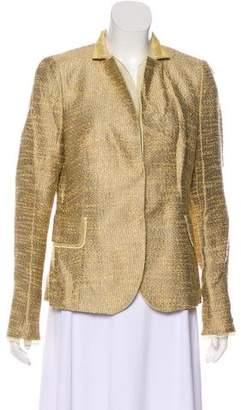 Akris Woven Blazer Jacket