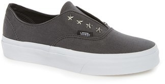 Women's Vans 'Authentic' Studded Slip-On Sneaker $59.95 thestylecure.com