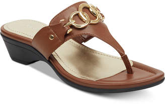 Marc Fisher Ariana Thong Sandals Women Shoes