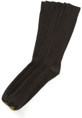 Gold Toe Goldtoe Extended Size GOLDTOE 3-pk. Metropolitan Dress Socks
