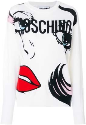 Moschino weeping classic sweatshirt