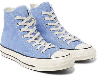 a1350456a91c Converse 1970s Chuck Taylor All Star Suede High-Top Sneakers - Men - Light  blue