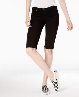 Hudson Amelia Cutoff Denim Bermuda Shorts