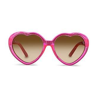 Milk & Soda Sophie Pink Glitter Glasses