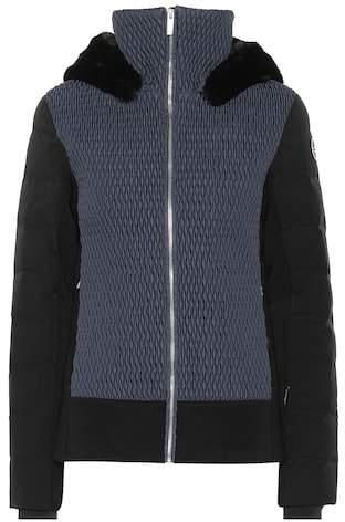 Fusalp fur-trimmed ski jacket