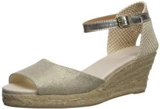 Soludos Women's Open-Toe midwedge (70mm) Espadrille Wedge Sandal 10 Regular US