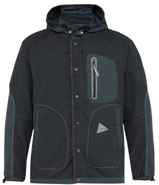 And Wander - Hooded Performance Jacket - Mens - Charcoal