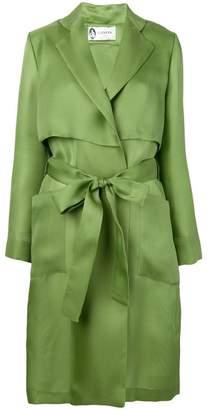 Lanvin fluid trench coat