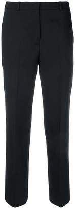 Jil Sander Navy cropped tailored trousers