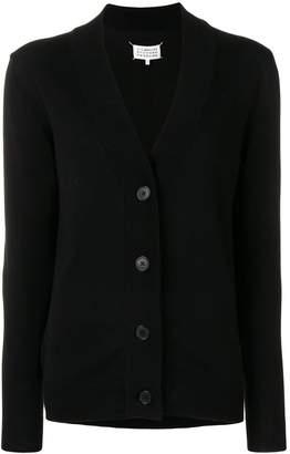 Maison Margiela longline V-neck cardigan