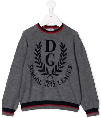 Dolce & Gabbana logo varsity jumper