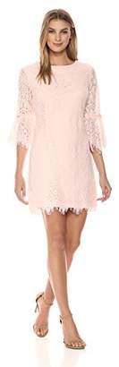 Ronni Nicole Women's 3/4 Bell Sleeve Lace Sheath
