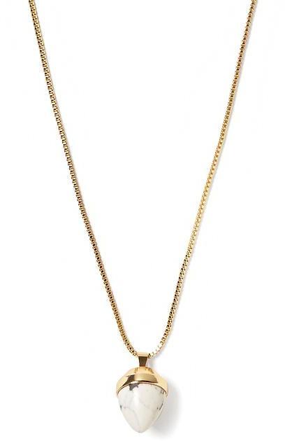 Banana Republic Marble Pendant Necklace