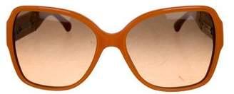 Chanel Patent CC Sunglasses