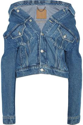 Balenciaga - Denim Jacket - Indigo $885 thestylecure.com
