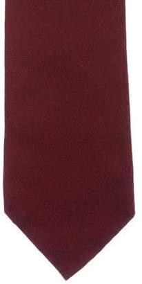 Louis Vuitton Silk Jacquard Logo Tie