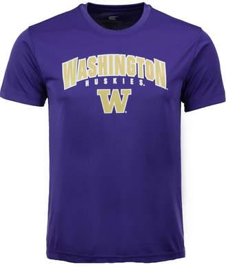 Colosseum Washington Huskies Mesh Poly T-Shirt, Big Boys (8-20)