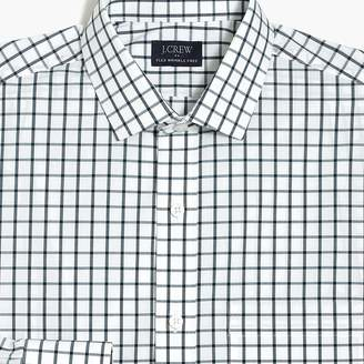J.Crew Factory Slim-fit flex wrinkle-free shirt in tattersall