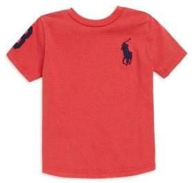"Ralph Lauren Boy's ""Three"" Embroidered T-Shirt"