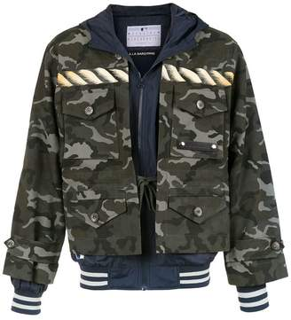 New Era À La Garçonne covered-up jacket